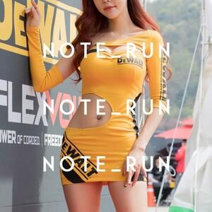 【xdw】コスチューム RQ レースクイーン 衣装 黄