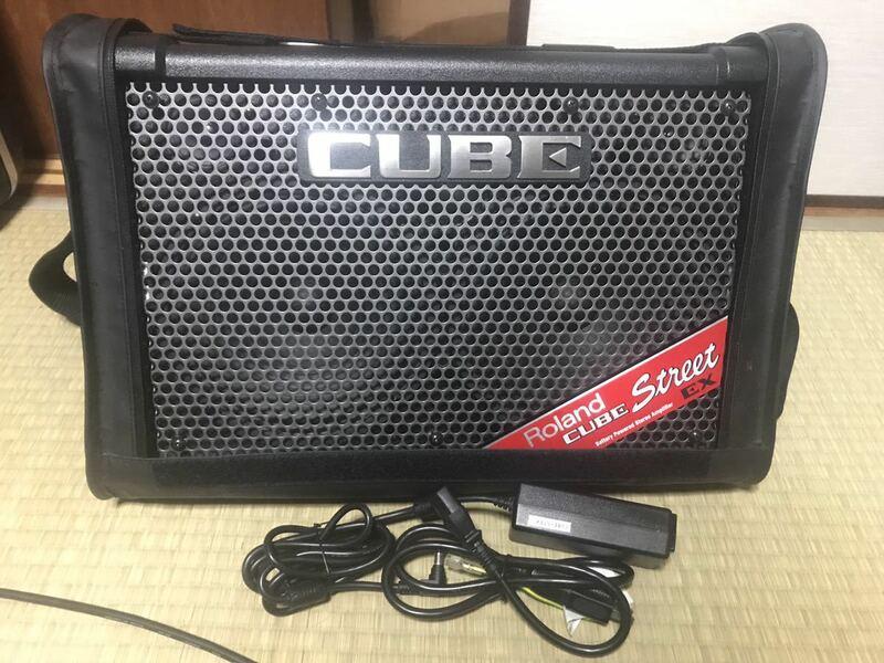 Roland CUBE STREET EX ローランド キューブ ストリート ギターアンプ 路上ライブ