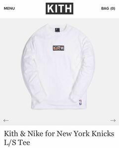 KITH NIKE for New York Knicks L/S Tee キス ナイキ Tシャツ ロンT 長袖 T-shirt TOKYO