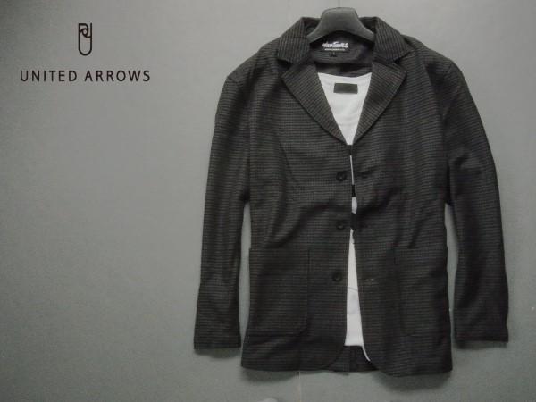 新品▼ユナイテッドアローズ 別注 ウール混 テーラードジャケット UNITED ARROWS/L