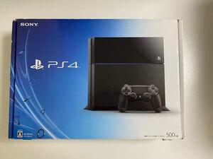 PlayStation4 ジェットブラック(本体のみ・コントローラー無し)