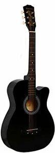 1 ギター 初心者 入門 アコースティック クラシックギター どこへでも気軽に持ち運べ (ブラック)