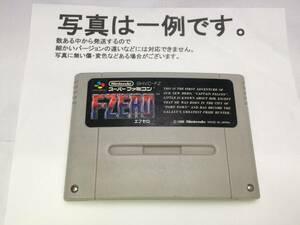 中古C★F-ZERO★スーパーファミコンソフト