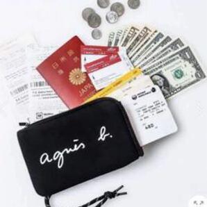 agnes b. アニエスベー パスポートケース サコッシュ Sweet