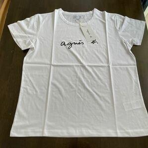 アニエス・ベー Tシャツ ホワイト XL