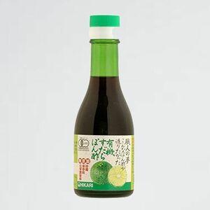 新品 未使用 職人の夢 光食品 F-TW 有機すだちぽん酢 180ml こんなぽん酢が造りたかった
