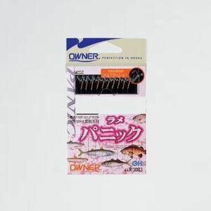 新品 目玉 仕掛け OWNER(オ-ナ-) 6-MK 1.2m R3033 ラメパニック 10本鈎 金細袖 2.5号 0.3号