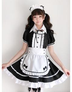 コスプレ衣装 メイド服 可愛いメイド XXXL