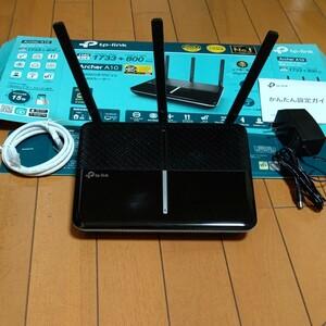 TP-Link 無線LANルーター Archer A10 Wi-Fi 1733Mbps+800Mbps