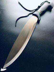 送料無料。超大型ナイフ、アウトドアナイフ 、サバイバルナイフ、ハンティングナイフ