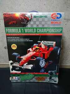 新品 F1 タイプ ラジコン 完成品 FORMULA1 WORLD CHAMPIONSHIP フォーミラ