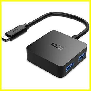 ICZI USB C ハブ,4ポートType C 変換アダプタ USB C ドッキングステーション 高速データ転送 Windows、PC、ノートパソコンMacBook/MacBook
