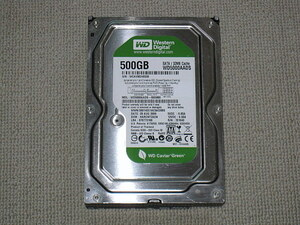 WD SATA 3.5インチ 500GB HDD WD500AADS 注意判定 600