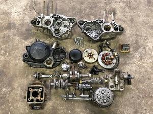 ヤマハ TZR50 3TU-092*** から部品取りした エンジン一式(ジャンク品)