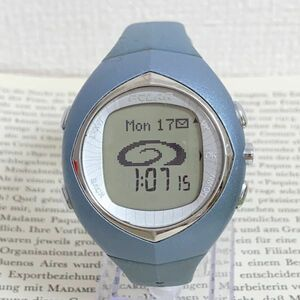 ★POLAR デジタル 腕時計★ ポラール ブルー系 稼動品 F6023