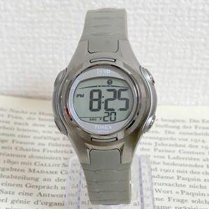 ★TIMEX 1440 sports 多機能 腕時計★ タイメックス 1440 スポーツ アラーム クロノ シルバー 稼動品 F6034