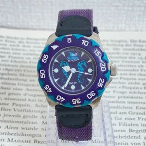 ★Freestyle SHARK 腕時計★ フリースタイル シャーク 3針 逆回転防止ベゼル 稼動品 F6078