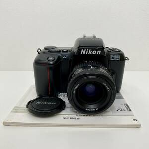 美品 通電&シャッター確認済 Nikon ニコン F-601 QUARTZ DATE フィルムカメラ 一眼 AF NIKKOR F3.3-4.5 35-70mm レンズ セット 888