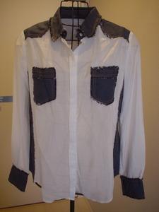 新品未使用★ATSURO TAYAMAおしゃれデザインシャツ(サイズ:36)