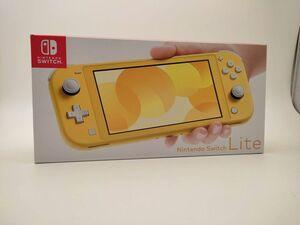【未使用品】Nintendo Switch Lite HDH-S-YAZAA 付属品完備 店舗購入印無し スイッチライト イエロー◆3102/掛川店