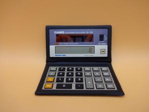 【147】CASIO SL-120 ソーラー電池 電卓