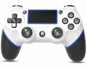PS4 コントローラー Cozylife Bluetooth 600m 二重振動 PS4コントローラー ワイヤレスコントローラー