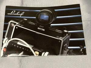 [ camera ]Linhof Super Technika world highest peak. large size camera Manufacturers. large catalog Lynn ho f1989[ rare ][ hard-to-find * beautiful goods ]! freebie attaching