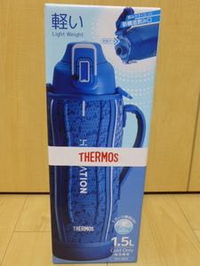 〇送料無料 新品未使用 サーモス 水筒 真空断熱スポーツボトル 1.5L ブルーシルバー 保冷専用 FHT-1501F BLSL