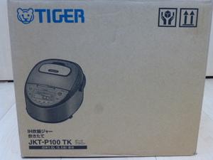 ★送料無料 新品未使用 タイガー魔法瓶(TIGER) 炊飯器 5.5合 IH ダークブラウン JKT-P100TK