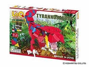 新品 LaQ (ラキュー) ダイナソーワールド ティラノサウルスEUDY