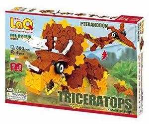 新品 ラキュー (LaQ) ダイナソーワールド(DinosaurWorld) トリケラトプス&プテラノドンN041