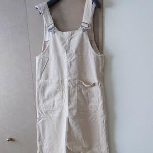 コーデュロイサロペットスカート