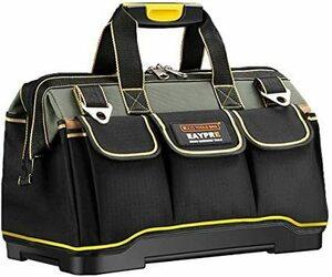 新品34.5x20.5x22CM YZL ツールバッグ 工具袋 ショルダー ベルト付 肩掛け 手提げ 大口収納 GWVQ8I