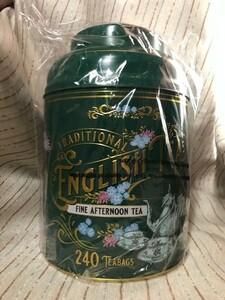 【未開封】Traditional English Tea トラディショナルイングリッシュティー 240ティーバッグ 紅茶 缶入り