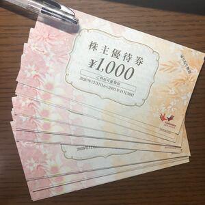 コシダカ まねきねこ 株主優待券25000円分