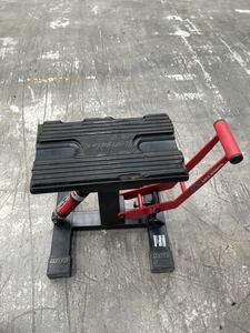 DRC HC2 リフトスタンド ディーアールシー ダートフリーク メンテナンススタンド 油圧ダンパー バイク用