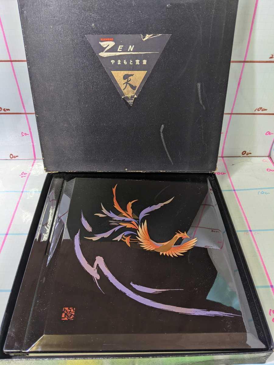 写真 アルバム 漆塗り 「山本寛斎」 鳳凰 フォトアルバム 未使用 箱付き 80サイズ