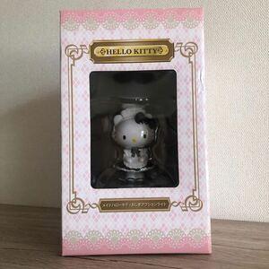 未開封品☆ハローキティ☆メイド おじぎ アクションライト インテリアライト 黒 サンリオ 非売品 レア