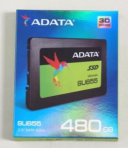 【送料無料】 ADATA SSD SU655 480GB ASU655SS-480GT-C 【新品・未開封】