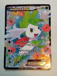 ポケモンカードゲーム シェイミEX SR 021/020 SC 1stEDITION シャイニーコレクション