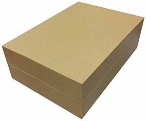 お得 ペーパーエントランス クラフト紙 A4 75.5kg 未晒 1000枚 コピー用紙 包装紙 ラッピング ブックカバー