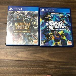 【PS4GUNDAM VERSUS [プレミアムGサウンドエディション]NEWガンダムブレイカービルドGサウンドエディションセット