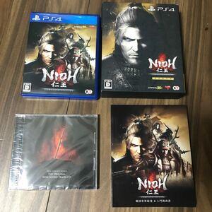 【PS4】 仁王 Complete Edition [初回限定版] 特典未開封
