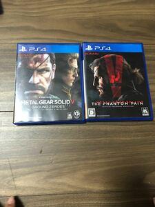 【PS4】 メタルギアソリッドV ファントムペイン [通常版]グラウンドゼロズ 2本セット
