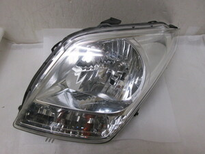 MH23 ワゴンR 左ヘッドライト コイト 100-59192 クリーニング済