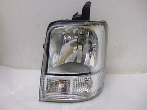 DA64 エブリィ 左ヘッドライト LE04G6129 クリーニング済