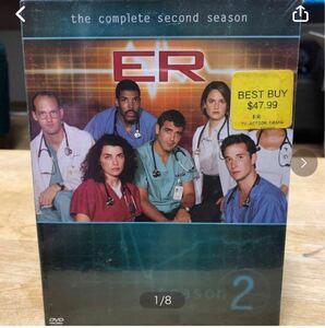 アメリカで買った有名な物語のDVDです。SPIDER-MAN、Buffy、ERのDVD-BOX