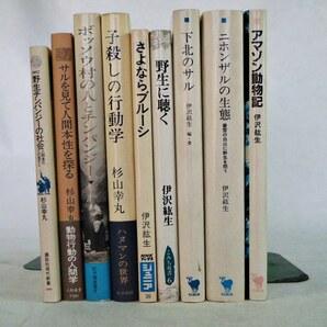 猿関連の本 02 伊沢紘生 杉山幸丸 九冊 送料込