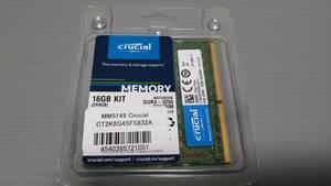 Crucial CT2K8G4SFS832A (DDR4 PC4-25600 SO 8GBx2)