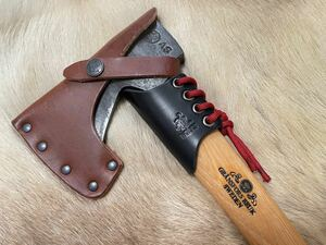 グレンスフォシュワイルドライフ415レザーネックガード ブラック